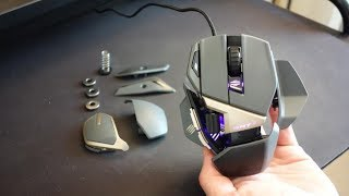 Mad Catz R.A.T. 8+ review - The most customisable gaming mouse, ever! By TotallydubbedHD