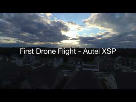 First Drone Flight 9/12/2017