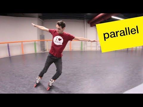 Как быстро тормозить на роликах - Parallel Slide