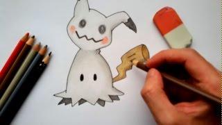 Wie malt man Mimigma (Pokemon)