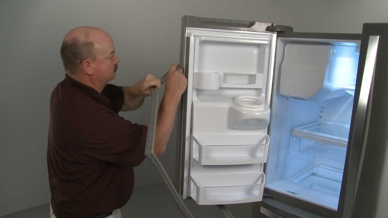 to watch door doors part replace gasket refrigerator how youtube