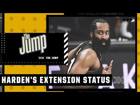 The financial implications for James Harden not signing extension with Nets | The Jump