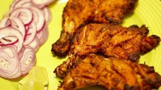 Grilled Tandoori chicken (Indian style)