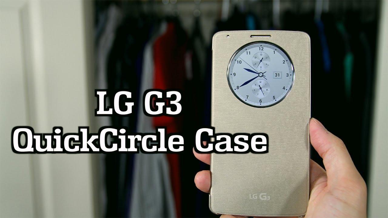 pretty nice 0f950 74455 LG G3 - Quick Circle Case