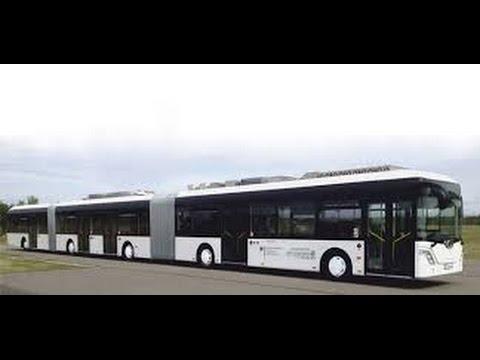 l ngster bus der welt auto tram probebetrieb in dresden youtube. Black Bedroom Furniture Sets. Home Design Ideas