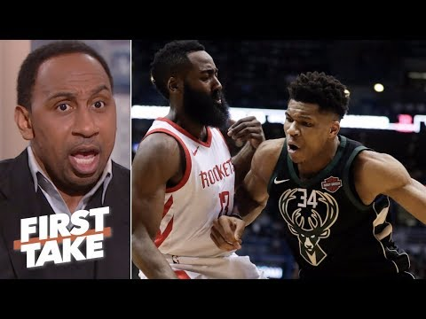 Stephen A. takes James Harden over Giannis Antetokounmpo 鈥榓ny day of the week鈥� | First Take