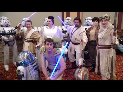 Star Wars fun fills Golden Valley school, Plymouth theater