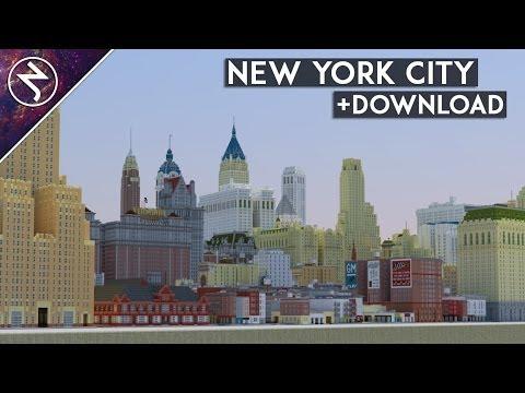 ★NEW YORK CITY★ in Minecraft + DOWNLOAD!