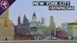 ★NEW YORK CITY★ in Minecraft + DOWNLOAD!