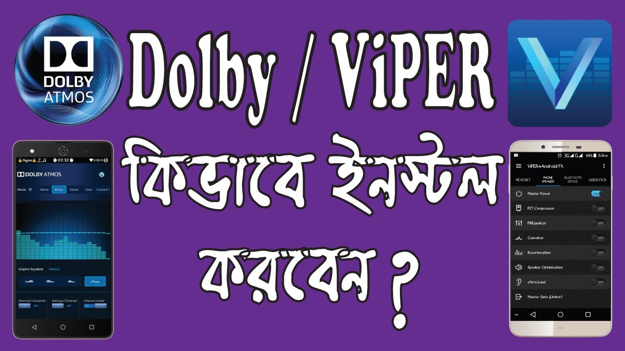 How to Install Dolby & ViPER Audio Fx