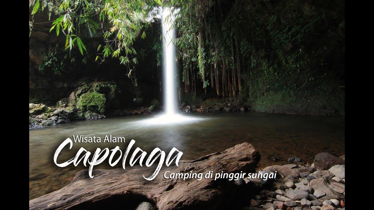 Wisata Alam Capolaga, Camping di Pinggir Sungai Jernih