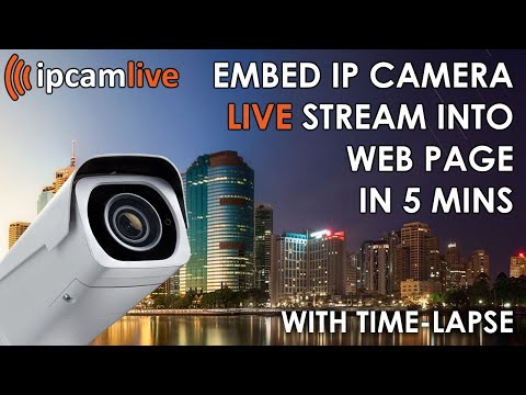 How To Embed IP Camera Live Stream Into Web Page (updated Version)
