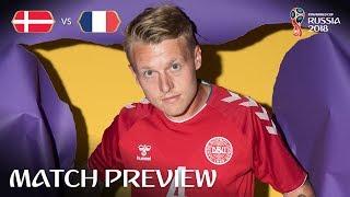 Simon Kjaer (Denmark) - Match 37 Preview - 2018 FIFA World Cup™