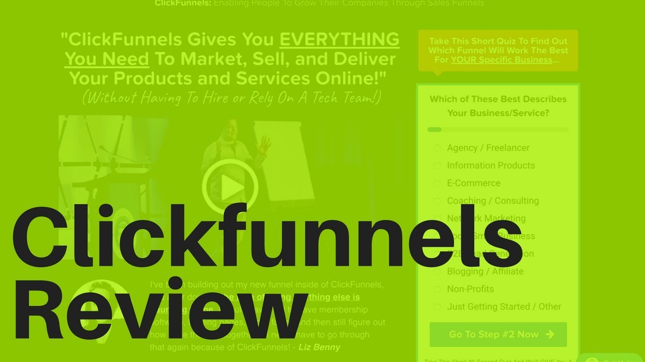 Clickfunnels Review 2018 for Beginners and ClickFunnels Bonus
