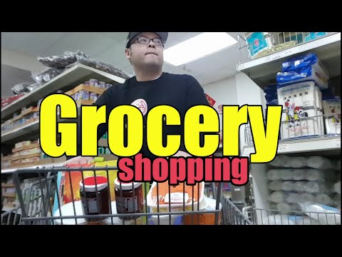 GROCERY SHOPPING ASIAN MARKET