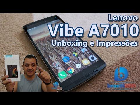Lenovo Vibe A70 - Unboxing e Impressões em Português!