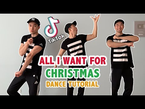 All I Want For Christmas Is You Dance (Soulja Boy) | Tik Tok Step By Step Tutorial