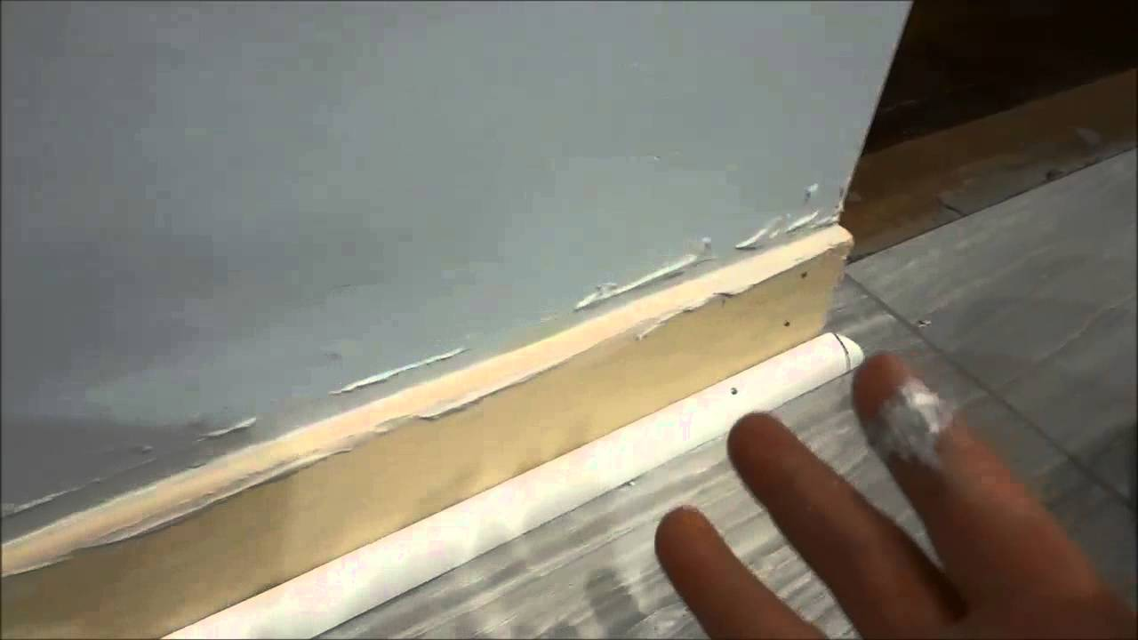How To Fill In The Gap Between The Wall And Baseboard