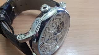 Механические часы cartier! Полный обзор) Очень классные, премиум в каждом мгновении. Спасибо Дэну