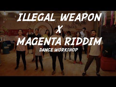 ILLEGAL WEAPON X MAGENTA RIDDIM | Bhangra Funk | Dance Workshop by - Urvan Ojha