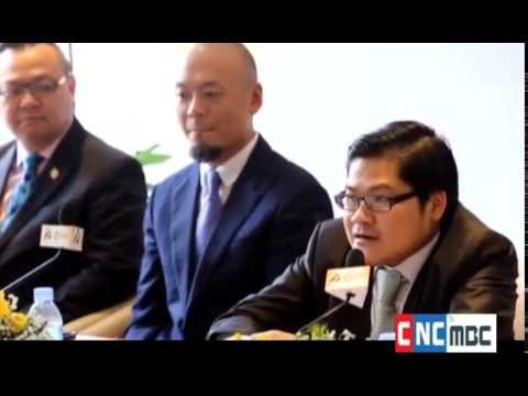 CNC's exclusive interview with Mr  Lawrence Kook, Director of Golden FX Link, and Mr  Mak Channdara