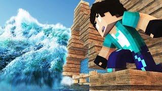 Minecraft: UM TSUNAMI! #02 (O SONHO)