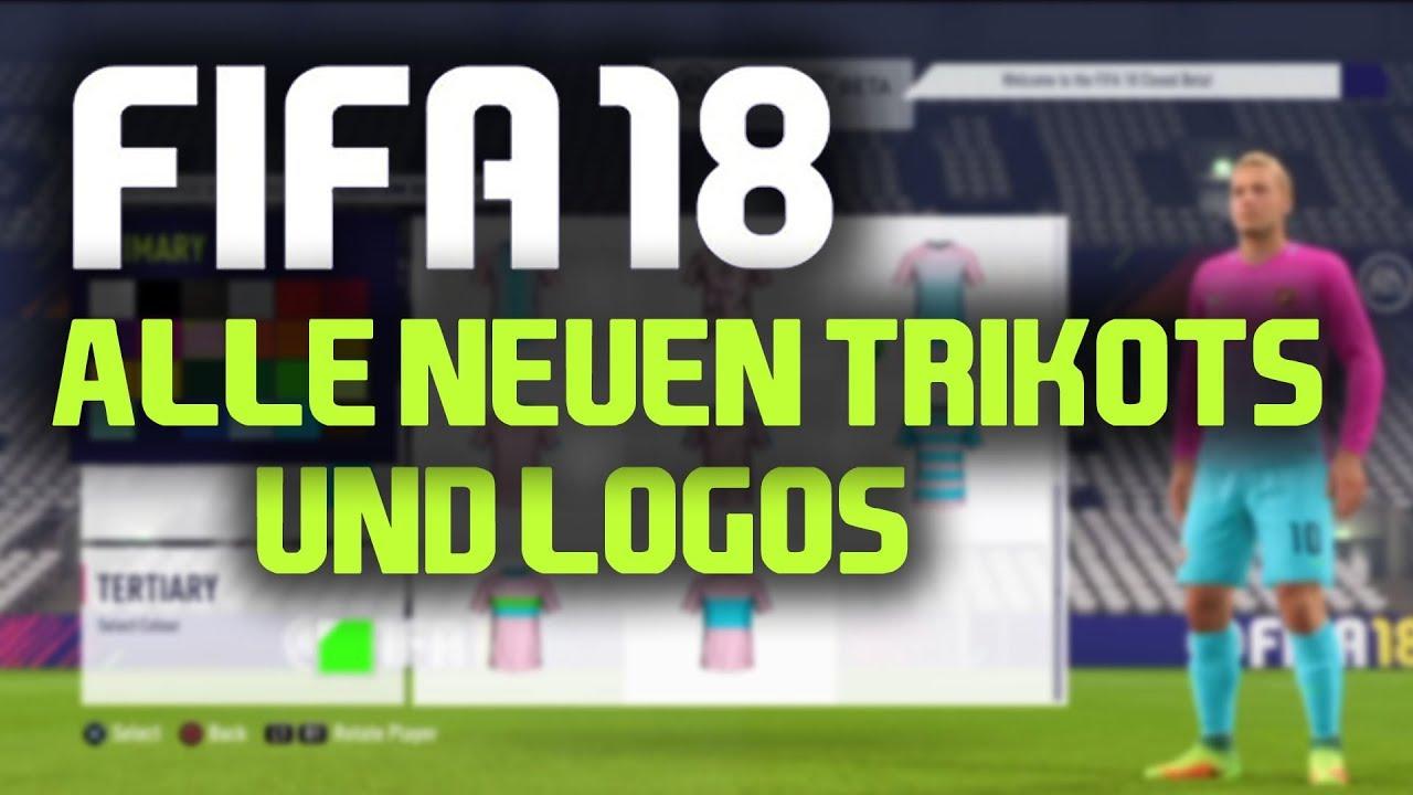Fifa 18 Pro Clubs Alle Neuen Trikots Und Logos Deutsch