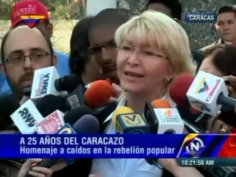 Fiscal General Luisa Ortega Díaz, declaraciones este 28 de febrero de 2014