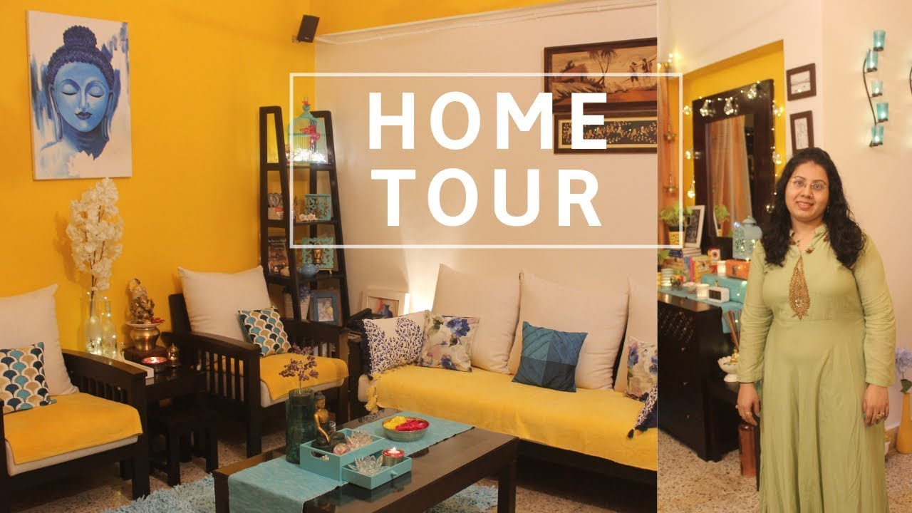 My Organized Indian House Tour | Indian house tour and decoration