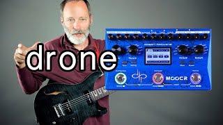 Mooer Ocean Machine = Ambient Guitar Drone Machine!