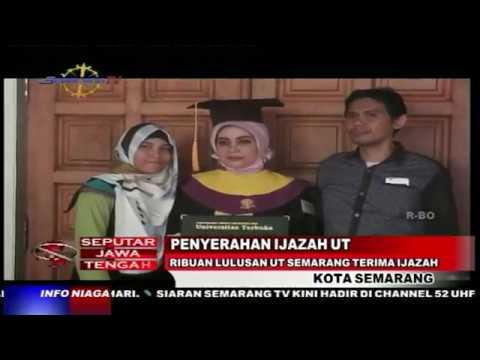 Ribuan Lulusan UT Semarang Terima Ijazah