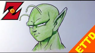 How to Draw Piccolo from Dragonball Z - Easy Things to Draw
