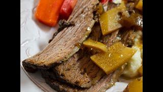 Kidney-healthy Slow Cooker Brisket
