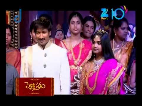 Pelli Pustakam - Indian Telugu Story - Epi 3 - Jun 21, 2015 - Zee Telugu TV Serial - Best Scene