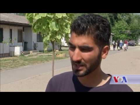 Afghan Refugees in Serbia - VOA-Pashto