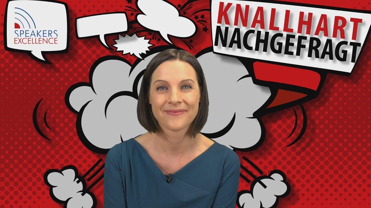 Knallhart Nachgefragt Mit Zdf Moderatorin Kay Solve Richter Youtube