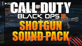 Call of Duty: Black Ops 3 Shotgun Sound Effects Pack | Free Download
