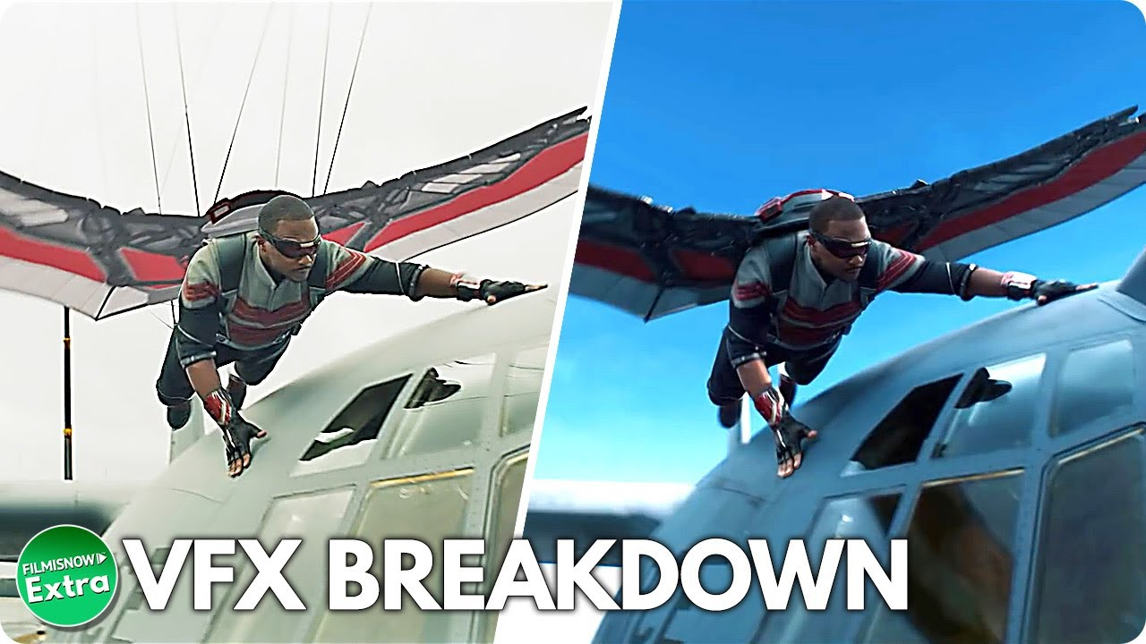 THE FALCON AND THE WINTER SOLDIER - Season 1 | VFX Breakdown of Series