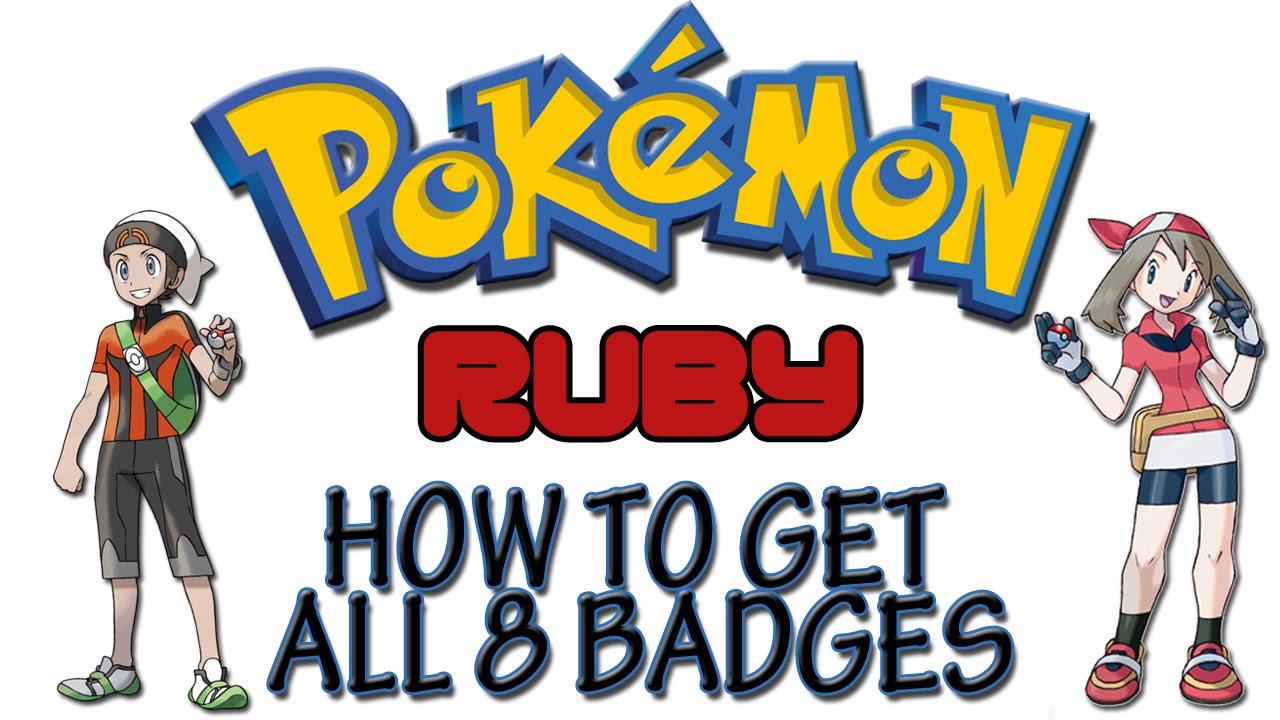 Pokemon Ruby - Get All 8 Badges | GameShark Codes