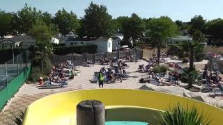 The pool area at Camping L'Oceano d'Or - Jard-sur-Mer in the vendee