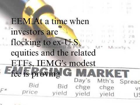 Fees Matter With Emerging Markets ETFs