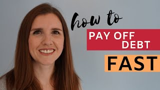 How to Pay Off Debt FAST (even on a Low income)
