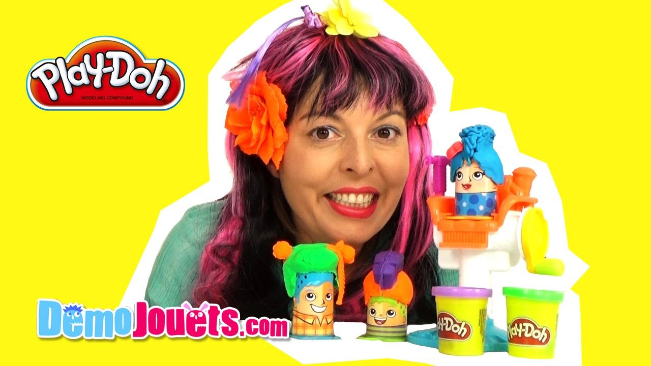 jouet p 226 te 224 modeler play doh le coiffeur hasbro d 233 mo jouets