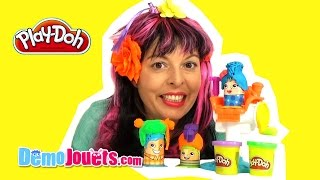 (JOUET) Pâte à modeler Play Doh Le coiffeur Hasbro - Démo Jouets