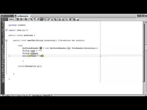 Curso Java #28 Como Leer un Archivo de texto en Java [Archivos]