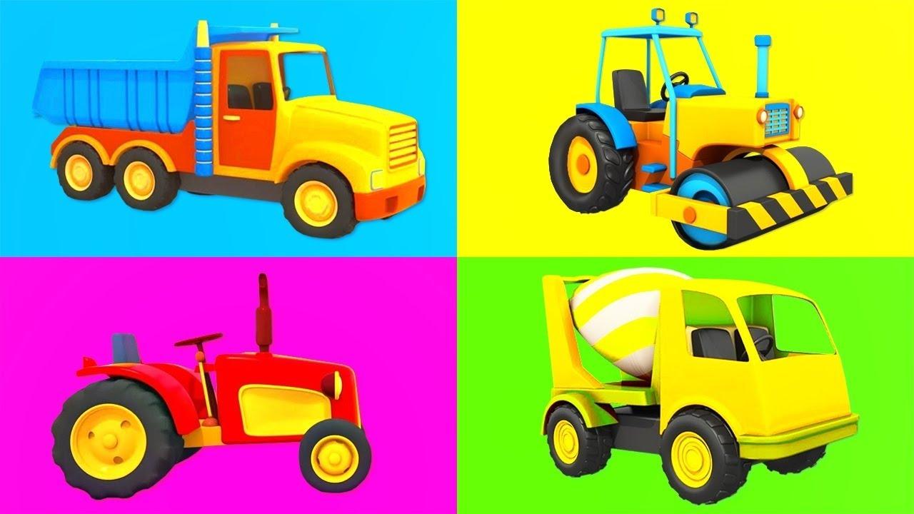 Nursery rhymes & kids' songs! Leo the truck cartoon and Street vehicles @Songs for Kids