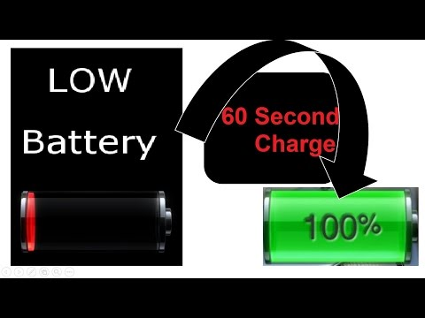 Full Charge your Phone In less than 1 Minute