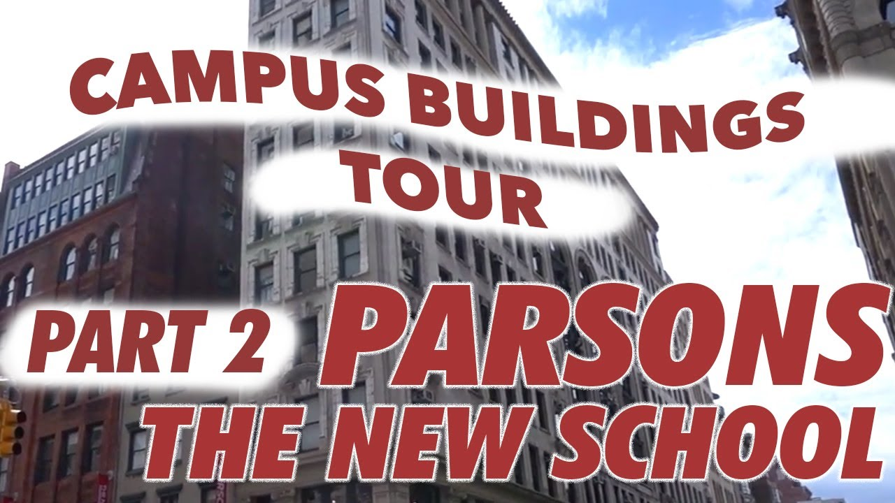parsons the new school for design: school tour [part two//parsons