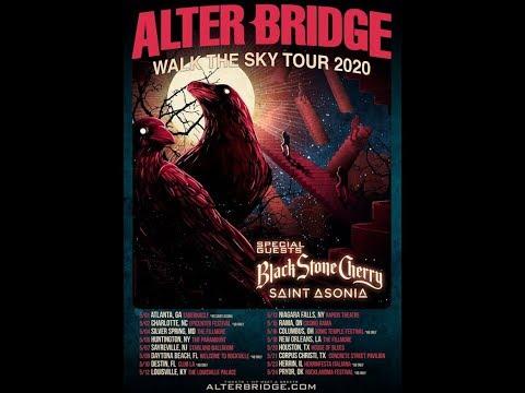 Alter Bridge tour with Black Stone Cherry and Saint Asonia ..!