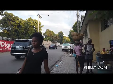 WRONG ROUTE - PORT AU PRINCE HAITI REAL STREETS 2020